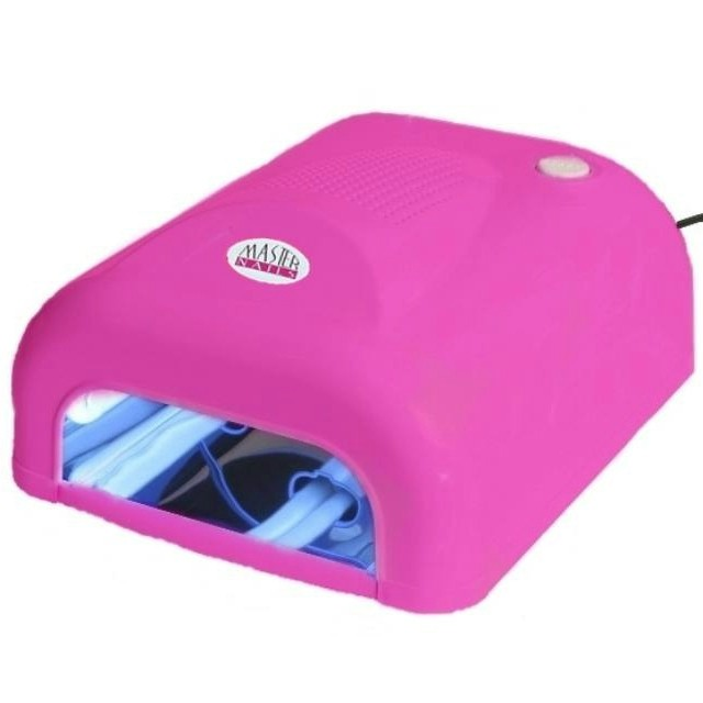 Master Nails UV Lámpa 4x9 W Pink