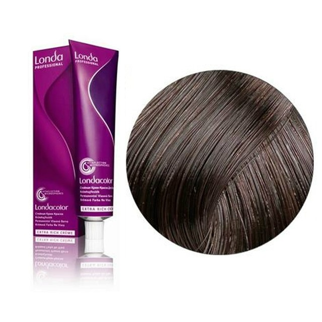 Londa color hajfesték 60ml 4/07