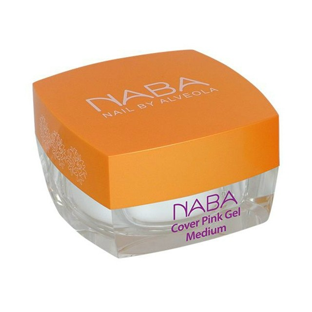 NABA Zselé -Cover Pink Gel 1, Light - 15 ml - (KÁH) NA611082
