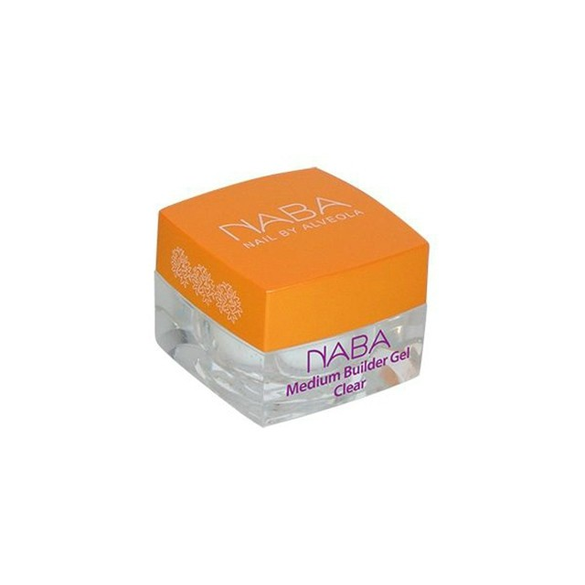 NABA Zselé - Builder Clear Medium 3,5ml NA611021