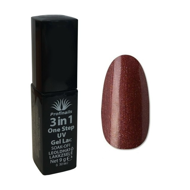 Profinails 3 in1 One Step UV lakkzselé 9gr No.157