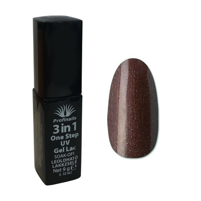 Profinails 3 in1 One Step UV lakkzselé 9gr No.158