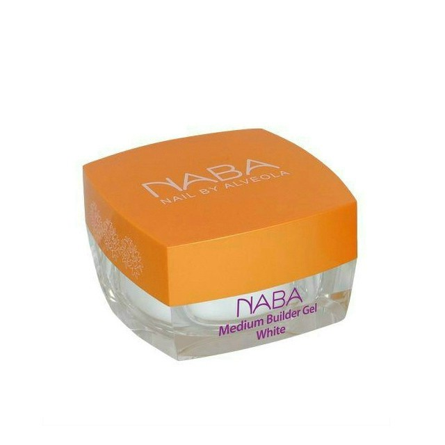 NABA Zselé - Builder Medium White 15ml NA611062