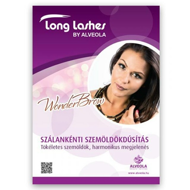 LongLashes plakát WonderBrow LLA35006