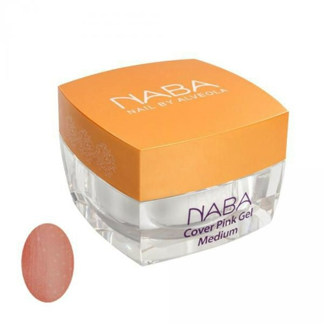 NABA Zselé -Cover Pink Gel 2 medium - 30 ml -  NA611093