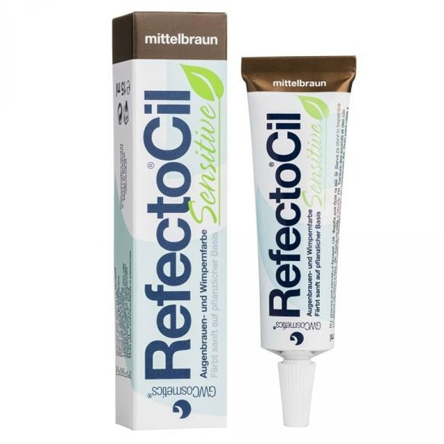 RefectoCil Sensitive középbarna 15ml RE05023