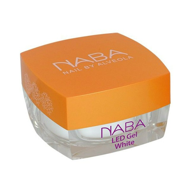 NABA Zselé - LED White gel (SO) 15ml NA611142 - kifutó