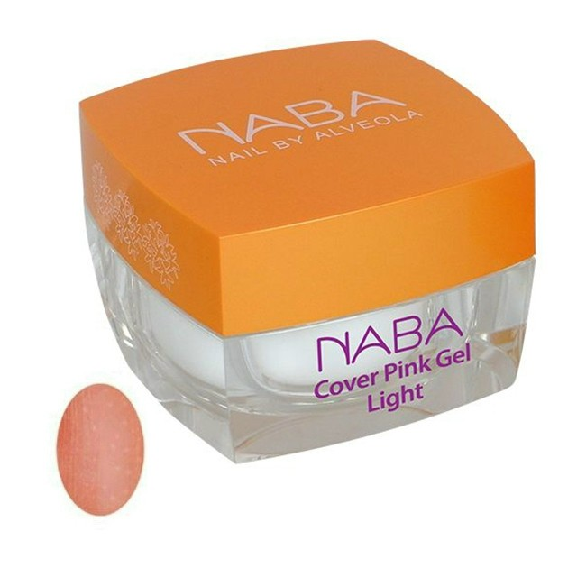 NABA Zselé -Cover Pink Gel 1, Light - 30 ml - (KÁH) NA611083