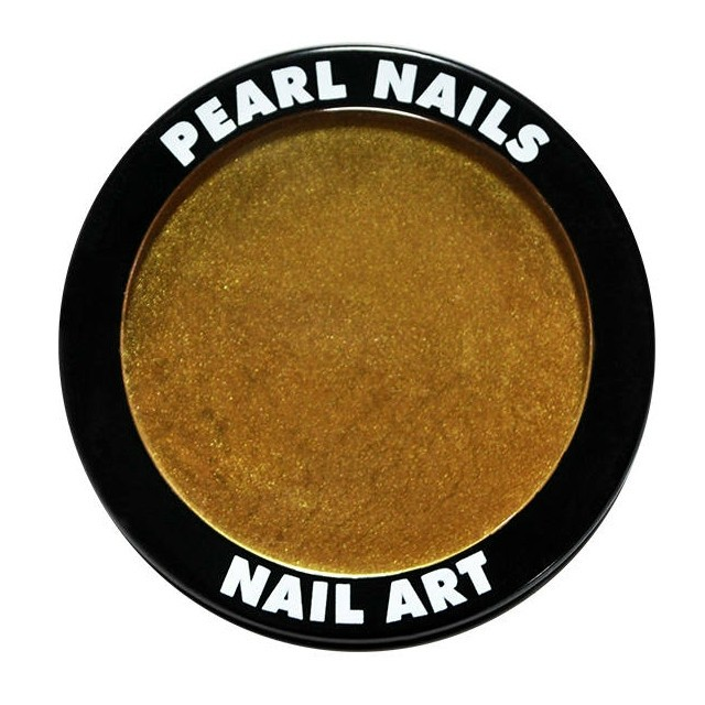 Pearl Nails Chrome Powder- Gold