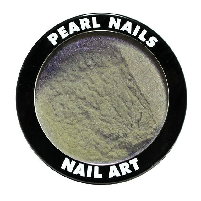 Pearl Nails Chrome Powder- Violett-Green Effect