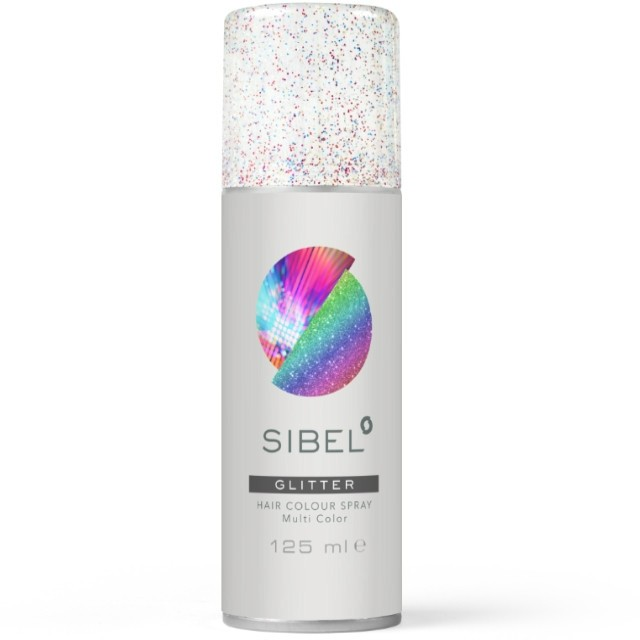 Glitteres Színes spray 125ml - multicolor 024000000