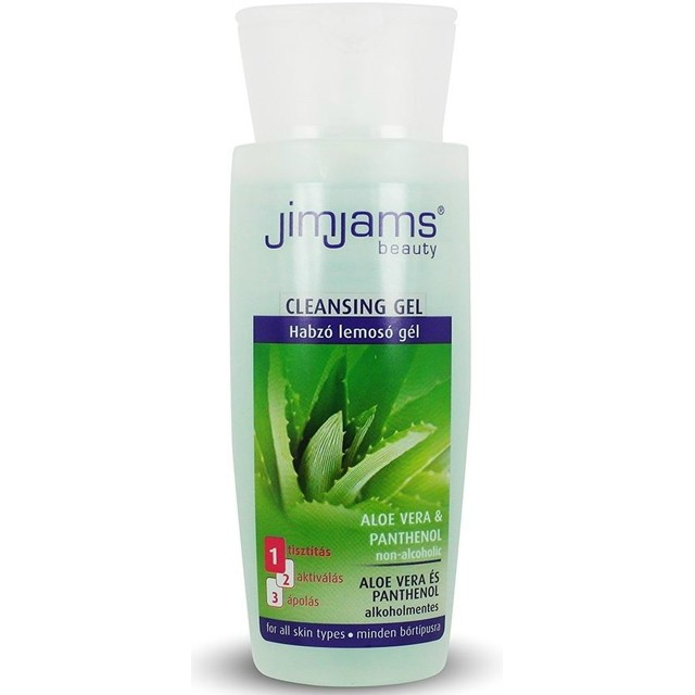 Jimjams ALOE VERA Habzó lemosó gél 150 ml JJ3001