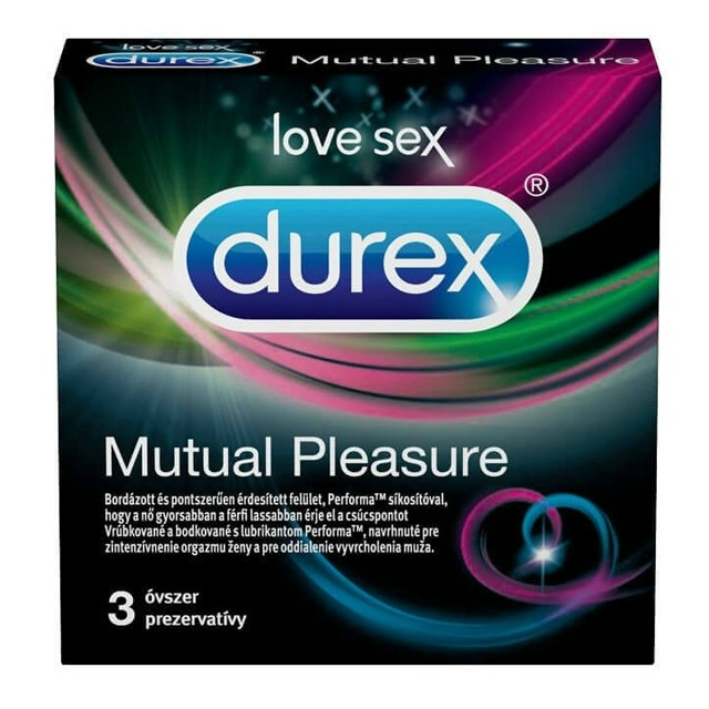 Durex óvszer 3db Mutual Pleasure