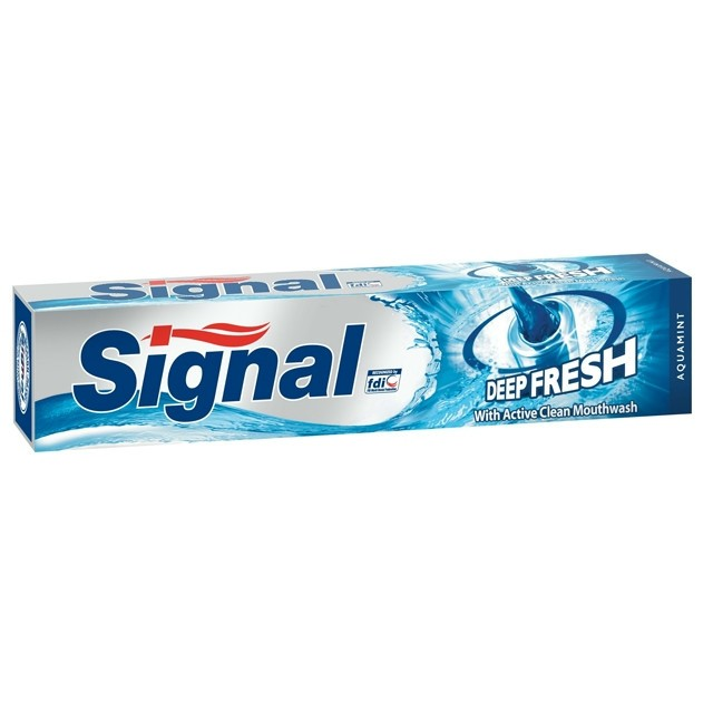 Signal Fogkrém 75ml Deep Fresh Aquamint