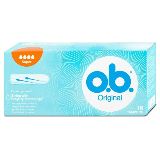 OB Tampon Super Original 16db