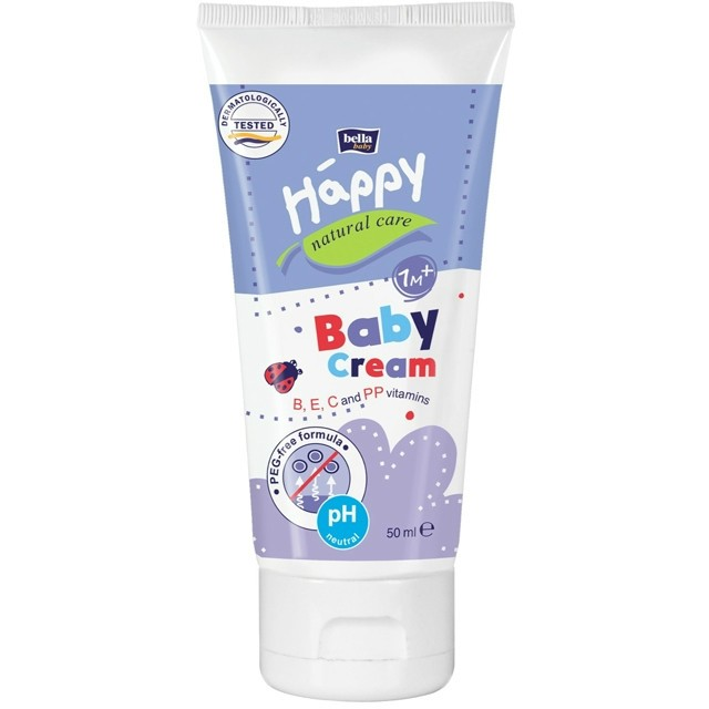Bella Baby Happy Natural Care bőrápoló krém 50ml