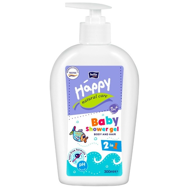 Bella Baby Happy Natural Care babafürdető 300ml