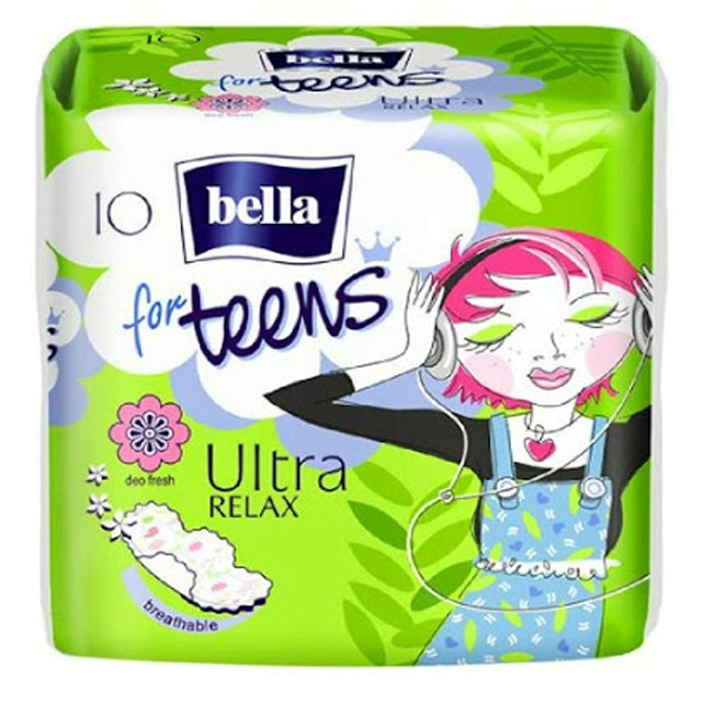 Bella For Teens Relax Intimbetét 10db