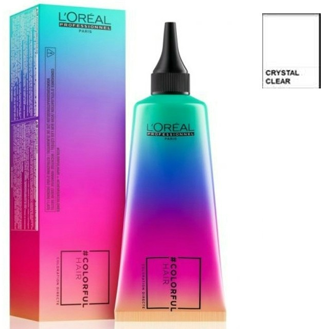 L'oréal Colorful Hair Crystal Cleat 90ml