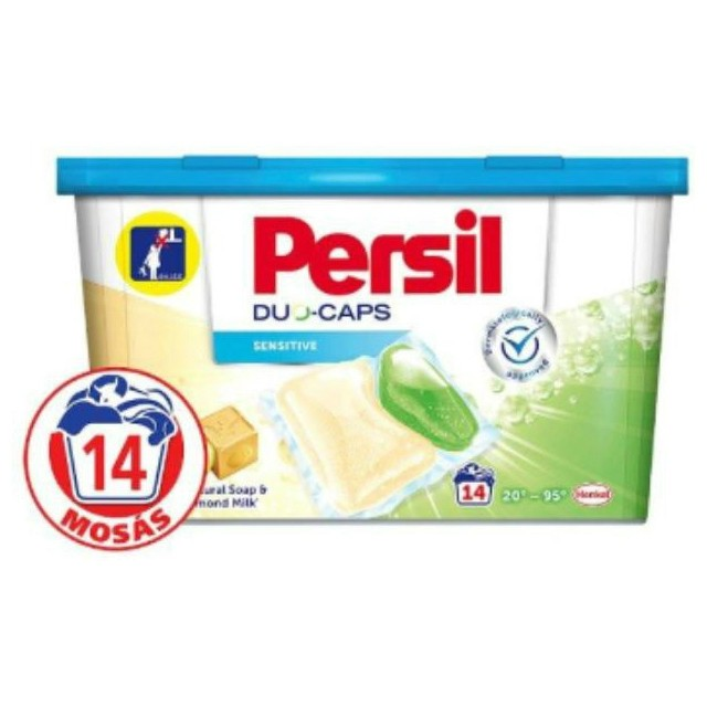 Persil Expert Duo Kapszula 14db Sensitive