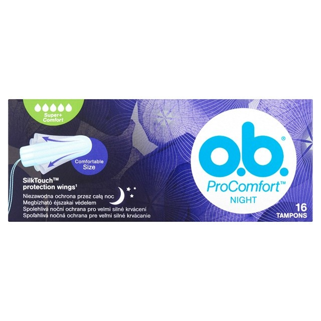OB Tampon Super Procomfort Night 16db