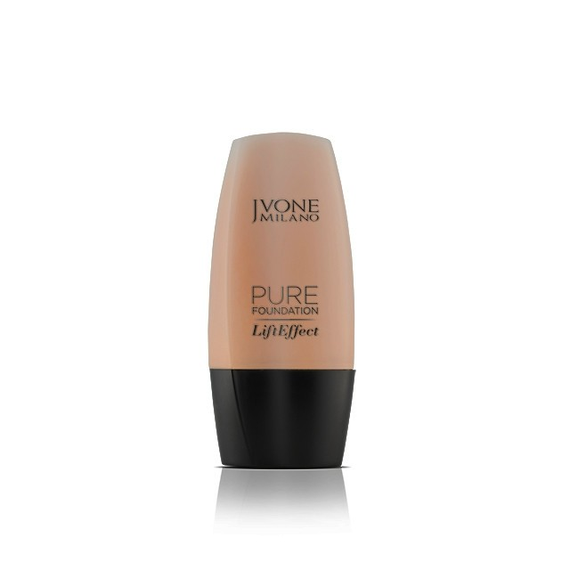 Jvone Milano alapozó folyékony pure lift effect hialuronsavval N.4 biscuit beige