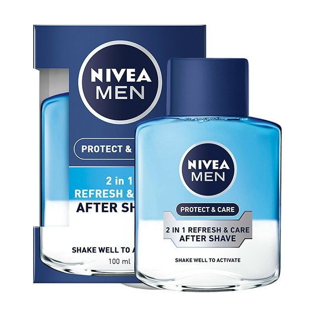 Nivea After Shave lotion 100ml Protect & Care