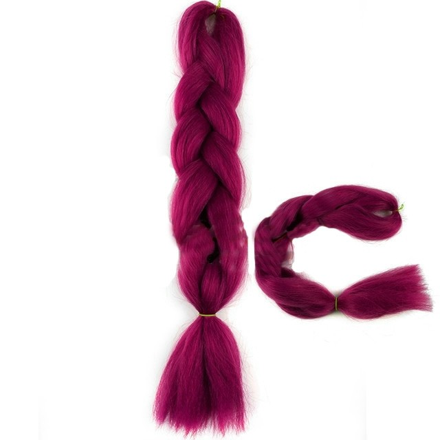 Koda Jumbo Braid Műhaj 120cm,100gr/csomag - Rose Red