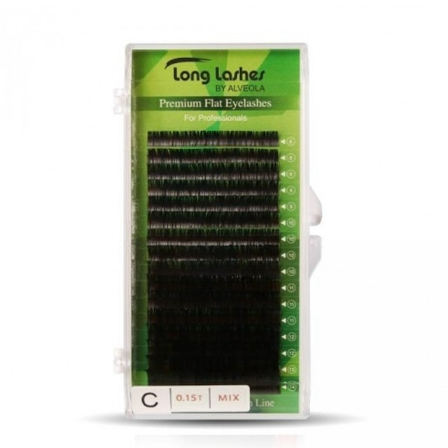 Long Lashes Flat pilla C / 0,15 - 8-9-10-11-12-13-14mm LLFC9150000