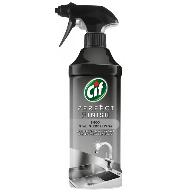 Cif Perfect Finish Spray 435ml Inox