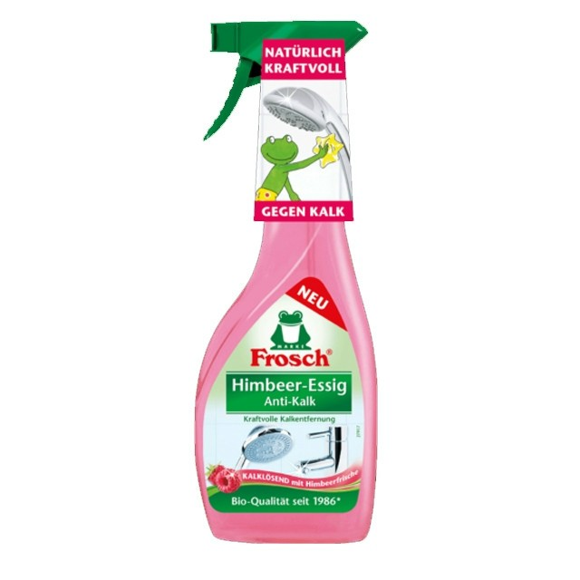 Frosch Vízkőoldó Spray Málnaecet 500ml
