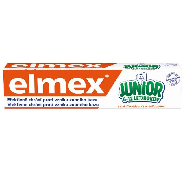 Elmex Fogkrém 75 ml Junior 6-12év