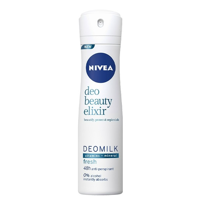 Nivea Deo 150ml Beauty Elixir Fresh