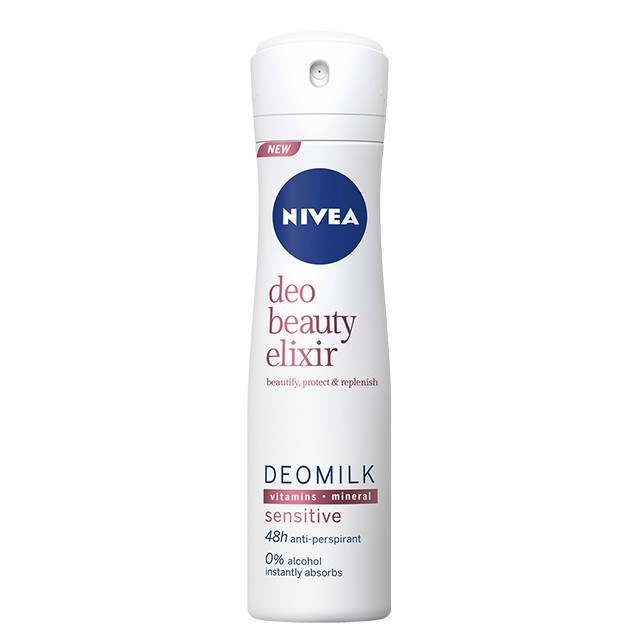 Nivea Deo 150ml Beauty Elixir Sensitive