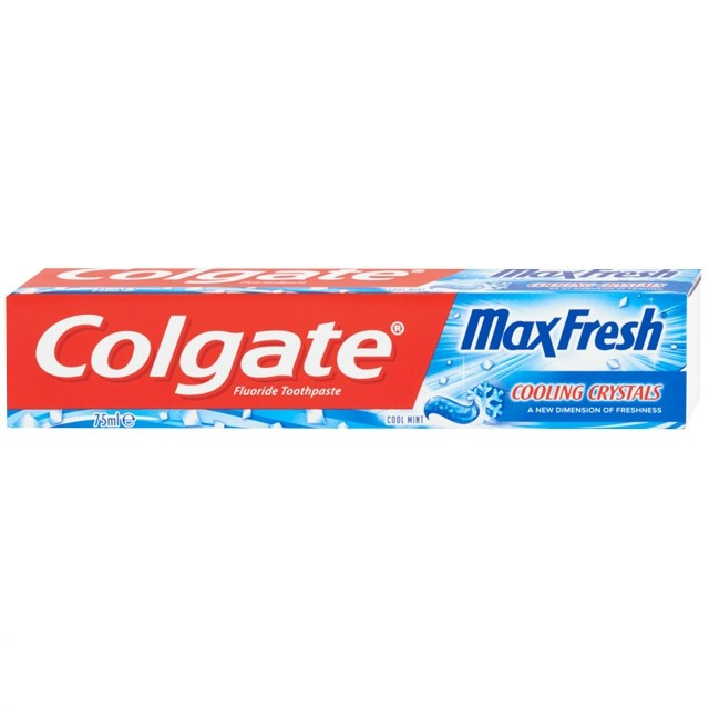 Colgate Fogkrém MaxFresh-Cooling Crystals Cool Mint 75ml
