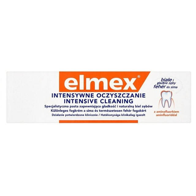 Elmex Fogkrém-Intensive Cleaning 50ml