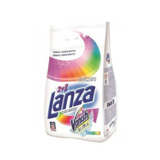 Lanza Vanish Mosópor Power Color 3,375kg (45 mosás)