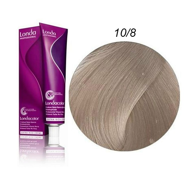 Londa Color Hajfesték 60ml 10/8