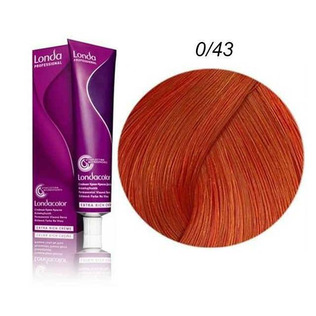 Londa Color Hajfesték 60ml 0/43