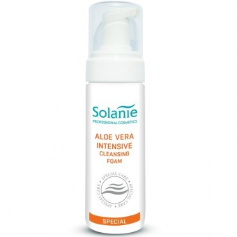 Solanie Aloe Vera Intenzív lemosó hab 200ml SO10910