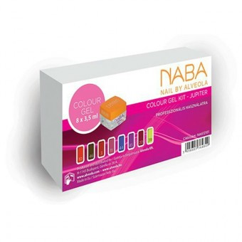 NABA colour gel kit-Jupiter 8x3,5ml NA612101