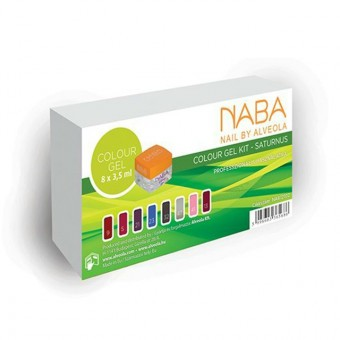 NABA colour gel kit-Saturnus 8x3,5ml NA612102