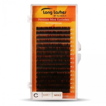 Long Lashes Extreme Volume Mink C/0,05-8-9-10-11-12-13-14mm LLEVMC9050000