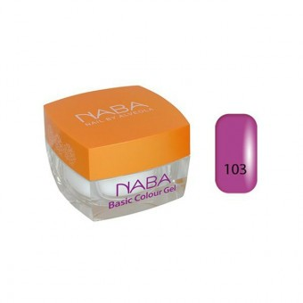 NABA Basic colour gel 103 - 3,5ml Purple NA613011.103 - kifutó