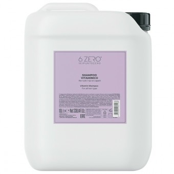 6.ZERO Szalon sampon multivitaminos 10 liter