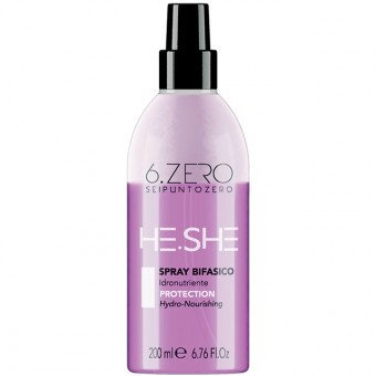 6.ZERO He.She two-phase spray - kétfázisú hidratáló spray 200ml
