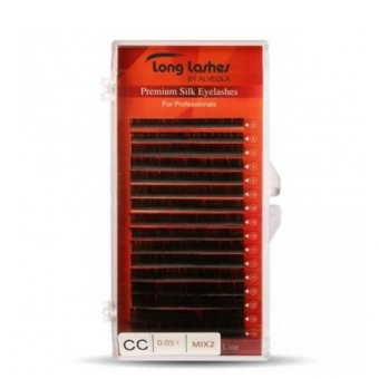 Long Lashes Extreme Volume Selyem CC/0,05-8-9-10-11-12-13-14mm LLEVSCC9050000