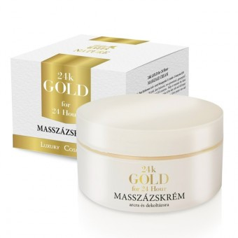 Golden Green Nature 24K Gold Intenzív masszázskrém 200ml