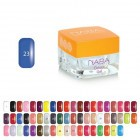 NABA colour gel 23 - 3,5ml Babylon Blue NA612011.023